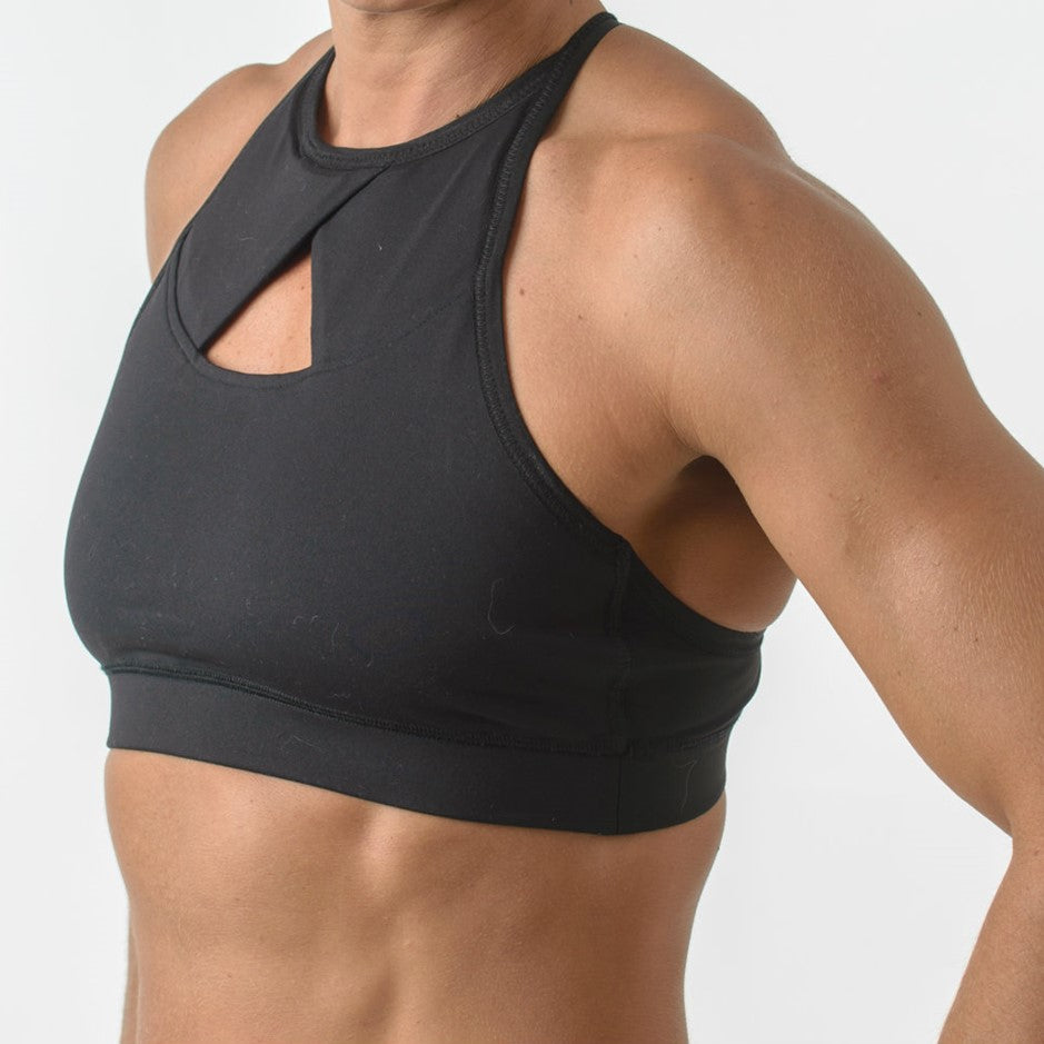 The Q Sport Bra - Black