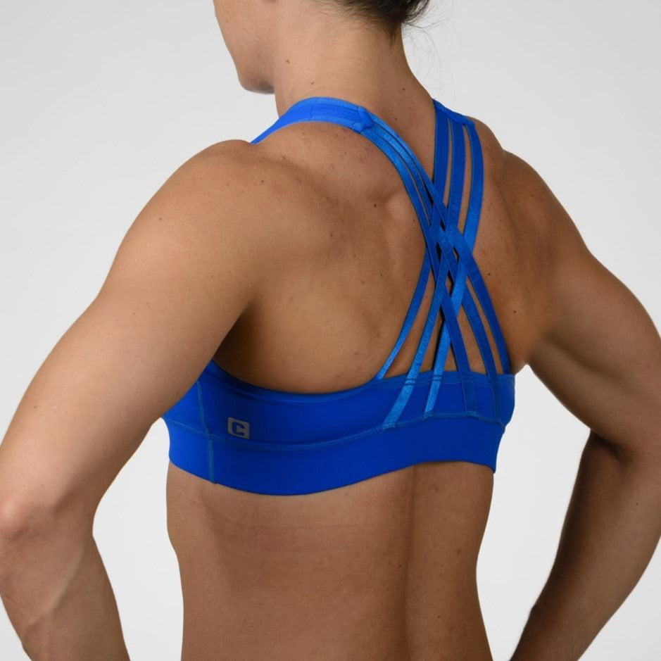 The Tiffany Sport Bra - Royal Blue