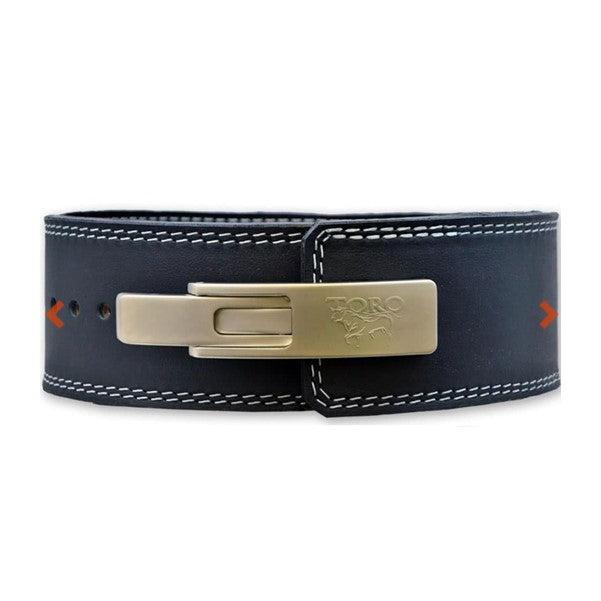 Titan Brahma Finished Leather Lever Powerlifting Belt