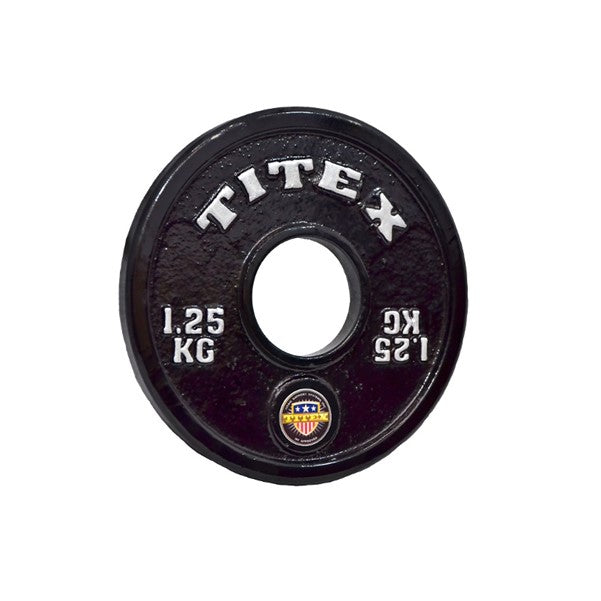 Titex Calibrated 1.25Kg Plate