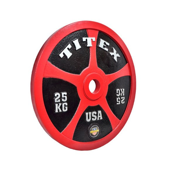 Titex Calibrated 25Kg Plate