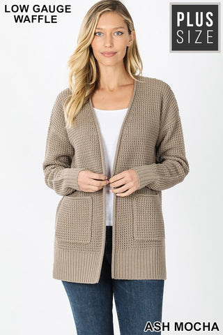 Warm and Cozy Sweater in Mocha CURVY