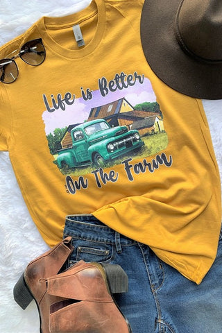 Life Is Better On The Farm Tee