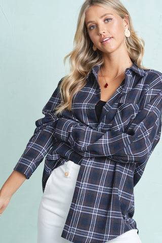 Boyfriend Flannel (several colors)