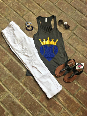Heart and Crown Tank