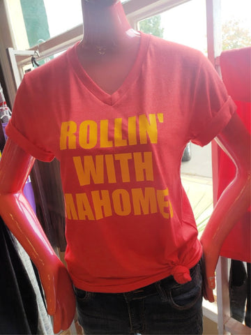 Rolln' With Mahomes Tee