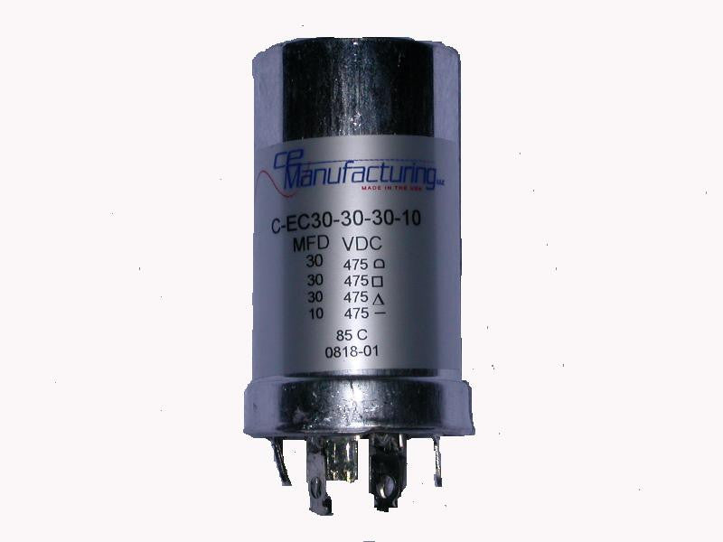 Replacement Can Capacitor (30,30,30,10uf)