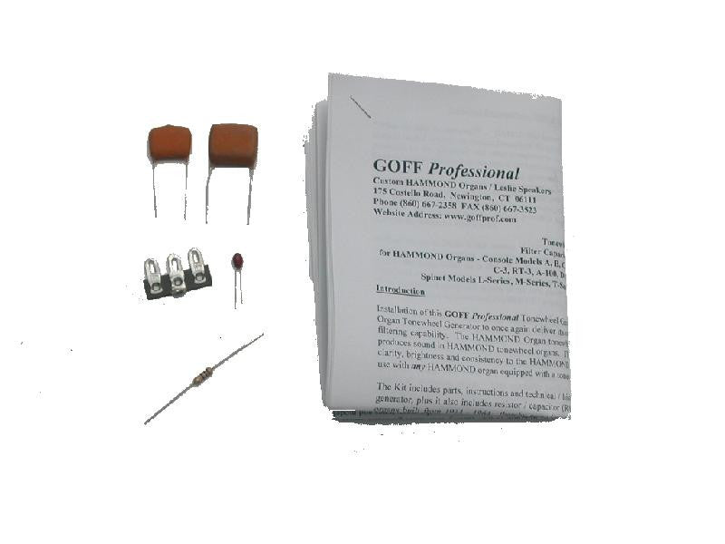 Tonewheel Generator Filter Capacitor Replacement Kit