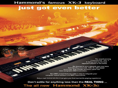 Hammond Suzuki XK-3c Keyboard