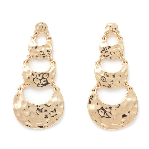 Gold Chunky Earrings