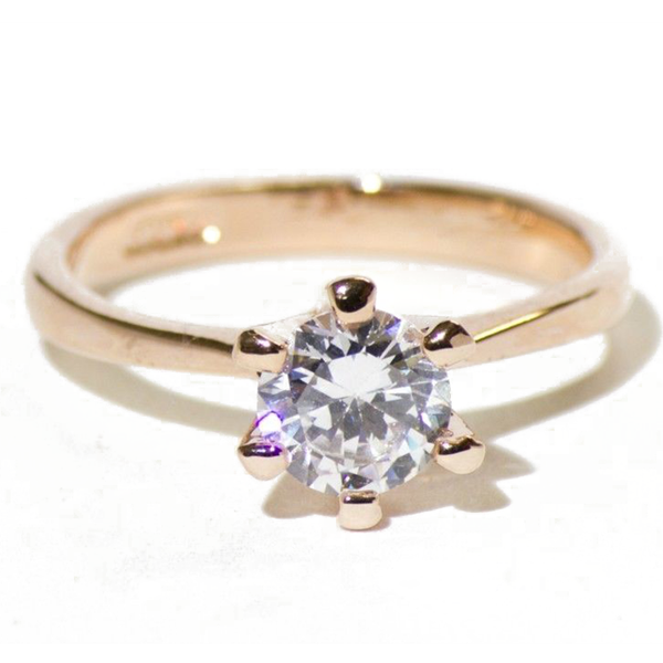 Classic Romantic Engagement Ring