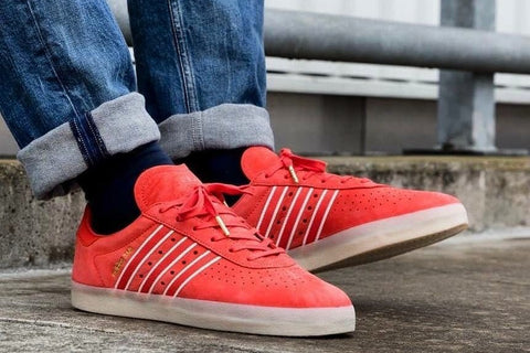 Adidas 350 Oyister Red  (size men complete)
