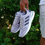 Adidas SUPERNOVA Boost Grey Stripe Black