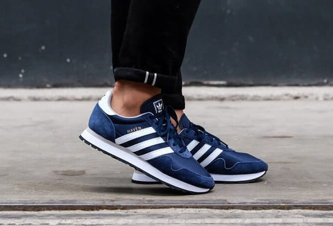 Sepatu Adidas Original HAVEN Navy White