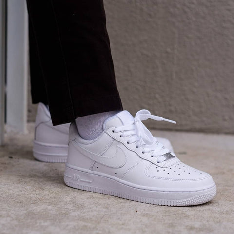 Nike Air Force 1 All White - (Size Complete)