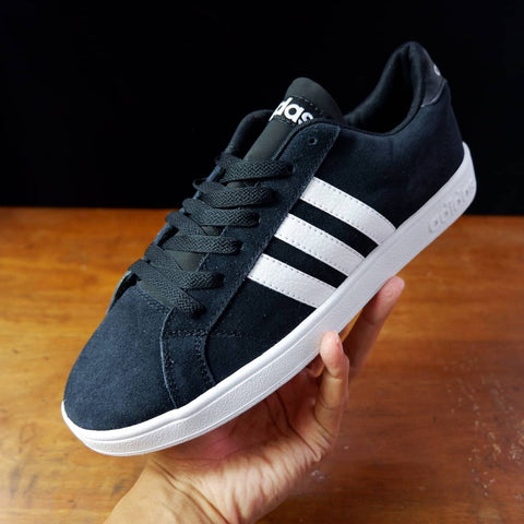 Adidas Baseline Suede Black White - (Size Men Complete)