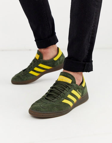 Adidas Spezial Dark Green Yellow