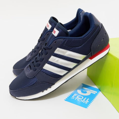 ADIDAS NEO CITY RACER Full Navy Silver