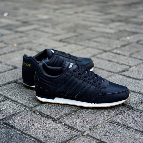 Adidas City Racer All Black Gum (BNWB)