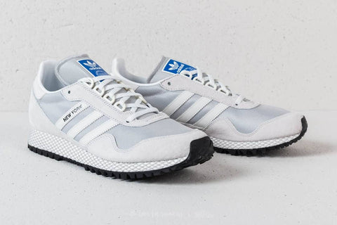 Adidas New York white OFF blue logo|| (Size Men Complete)
