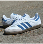 Adidas Originals Samba White Blue Gum - (Size Men Complete)