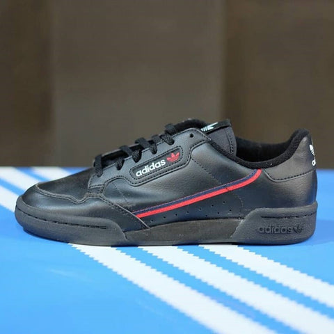 Adidas Continental 80 Core Black Red (BNWB) (Size Men Complete)