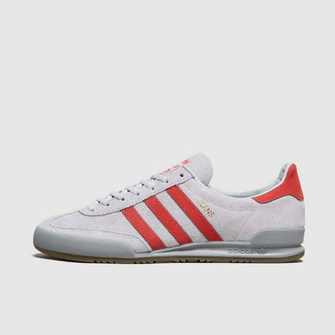 Adidas JEANS Chalk Grey Red  ||  (Size Men Complete)