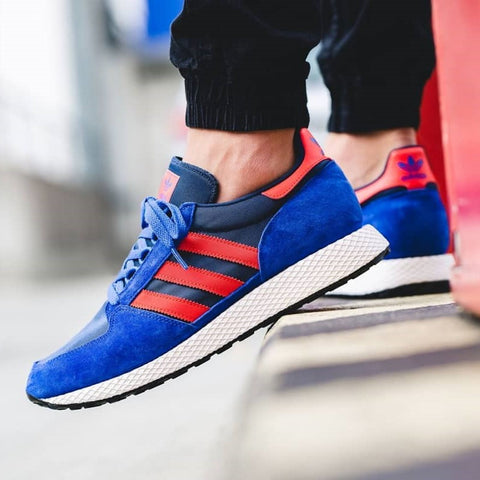 Adidas FOREST GROOVE Blue Red BNIB