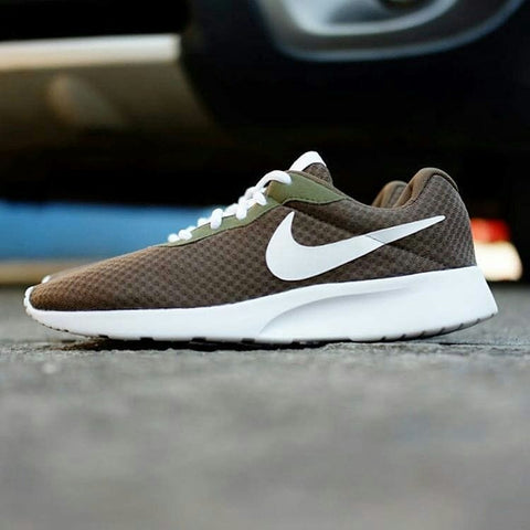 Nike Tanjun Brown Green White BNWB - 40, 41, 42, 43, 44, 45