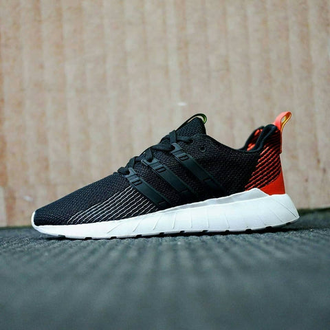 Adidas Questar Flow Black Orange (BNWB)