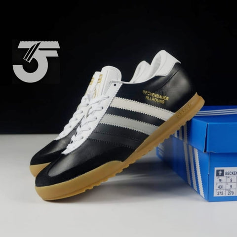 Adidas Beckenbauer Allround Black Grey Gum (BNIB)