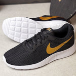 NIKE Tanjun black white list gold  BNWB -  37.5, 38, 39, 40, 41, 42