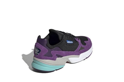 Adidas  FALCON Black purple W || (39 1/3, 40, 40 2/3, 41 1/3)