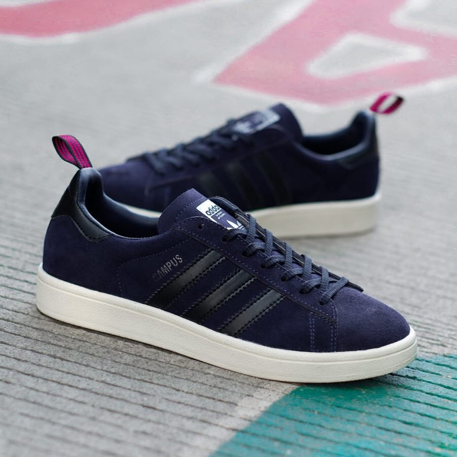 plus récent 725d7 44543 Adidas Campus Retro navy BNWB - 40 2/3 , 41 1/3 , 42 , 42 2/3 , 43 1/3 , 44