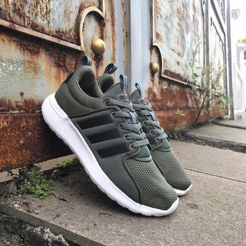 Adidas CLOUDFOAM Lite Racer trace green || (Size Complete)