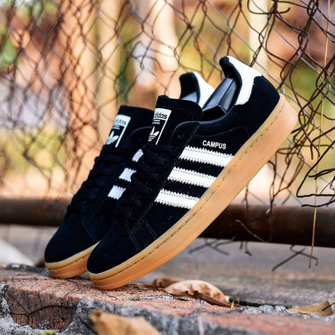 Adidas CAMPUS Black White Gum