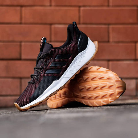 Adidas Questar Traill Maroon Black Sole Gum