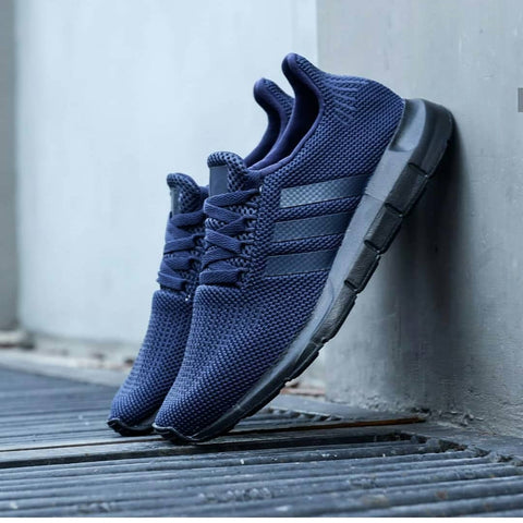 Adidas Swift Run Navy Sole Black