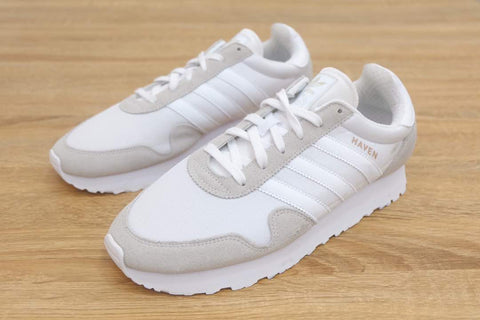Adidas Haven Trainer Vintage All White || (36, 36 2/3)