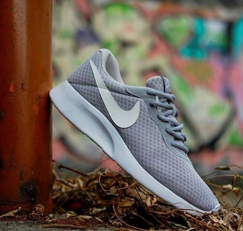Nike Tanjun Grey White BNWB - Size Women Men Complete