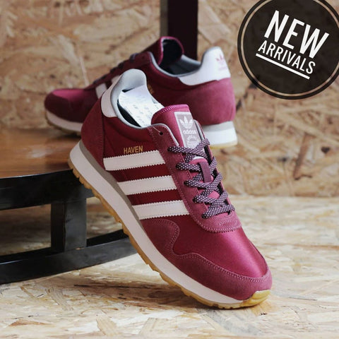 Adidas Haven Trainer Maroon Gum (BNWB)