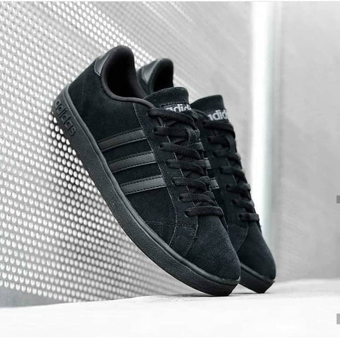 Adidas NEO BASELINE Suede All Black