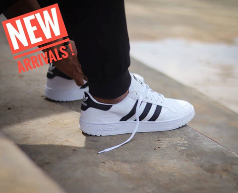 Adidas Team Court White Black (BNWB)