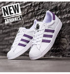 Adidas Superstar Foundation White Purple (BNWB)