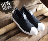 Adidas Superstar Slip on Black White (BNWB)