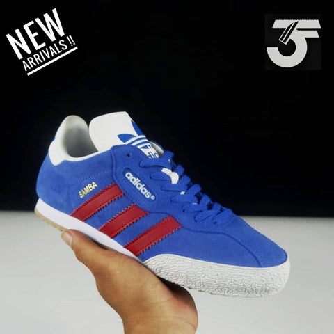 Adidas Samba Super Blue Red (BNWB)