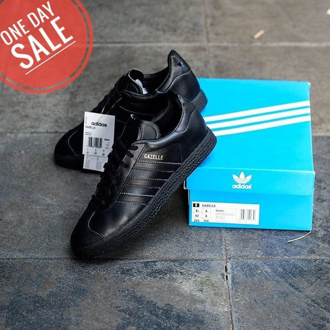 Adidas Gazelle Leather All Black (BNIB)