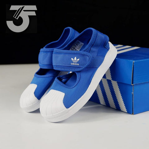 Adidas Superstar Kids Sandal Blue (BNWB)