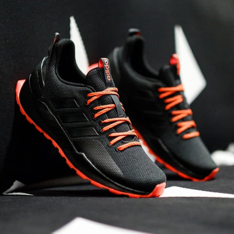 Adidas QUESTAR TRAIL All Black sole Orange
