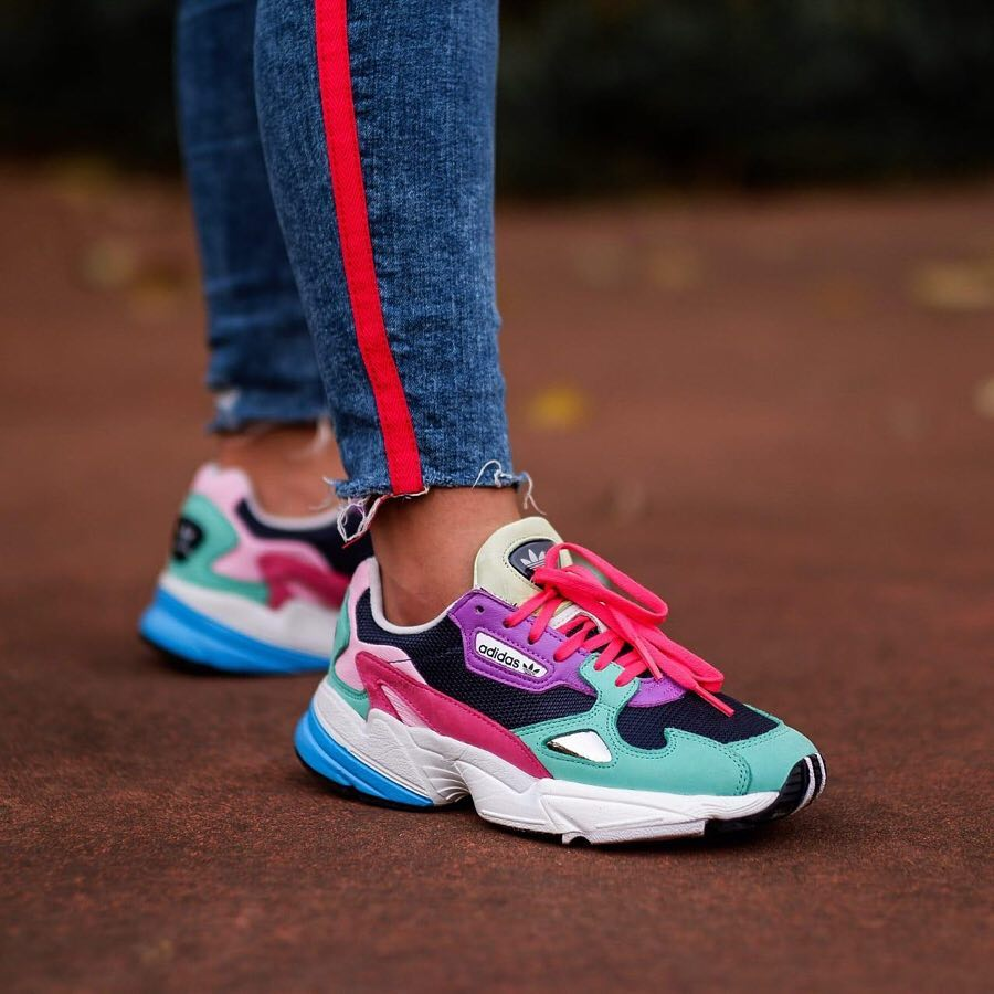 various design low priced newest Adidas FALCON Multicolor II 36 , 36 2/3 , 37 1/3